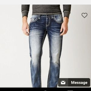 Other - mens rock revival slim bootcut jeans